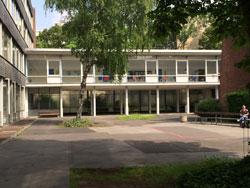 Berufkolleg Humboldtstrasse Köln Schulhof